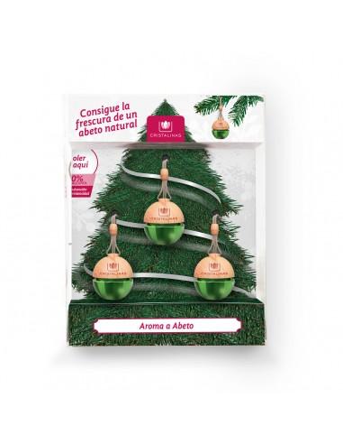 Pack x3 Ambientador Coche Gama Navidad