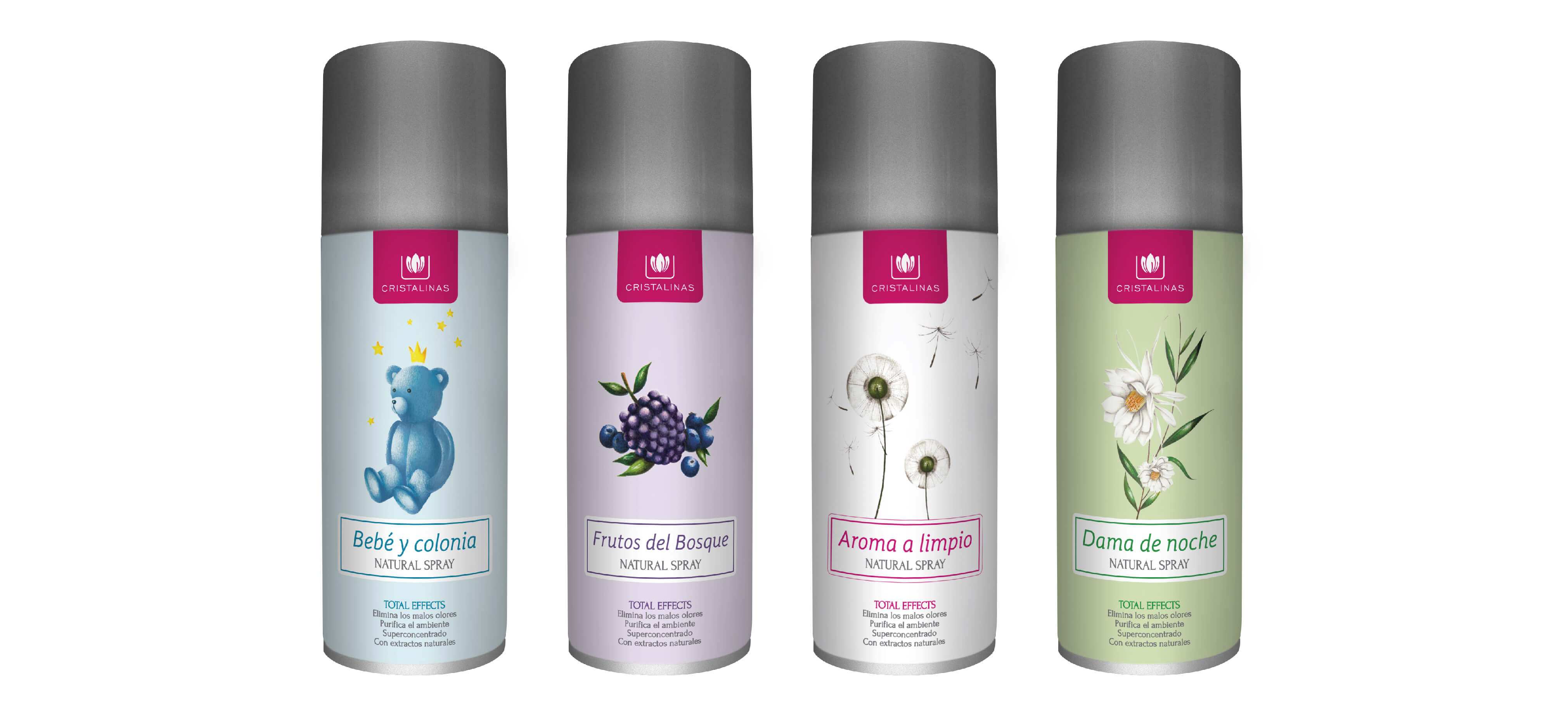 Compra tu Total Effects Natural Spray en tu aroma preferido en Cristalinas
