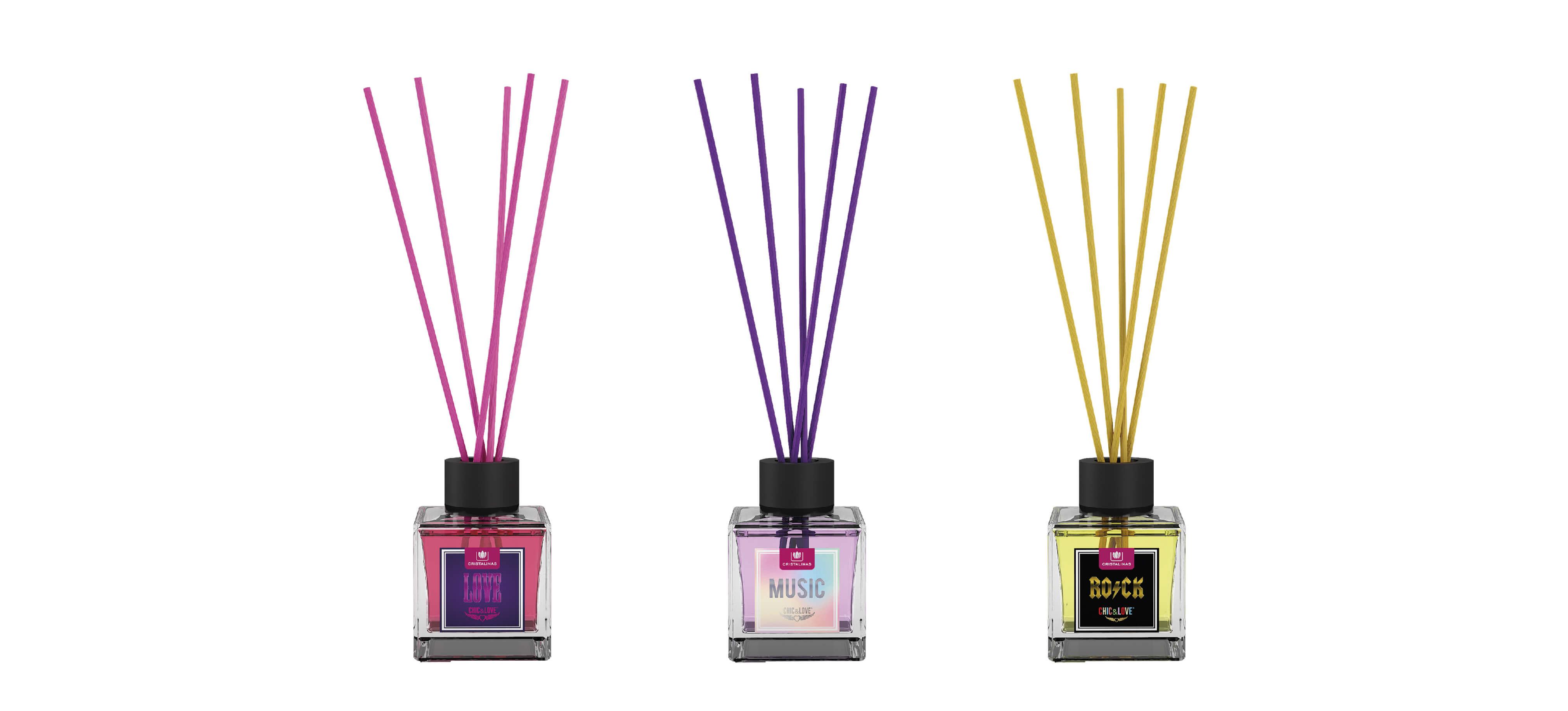 Compra tu Mikado Chic&Love 40 ml en tu aroma preferido en Cristalinas
